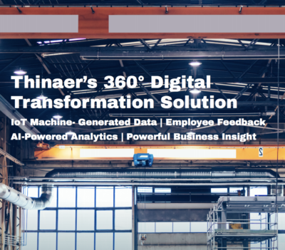 Thinaer's manufacturing IoT solution